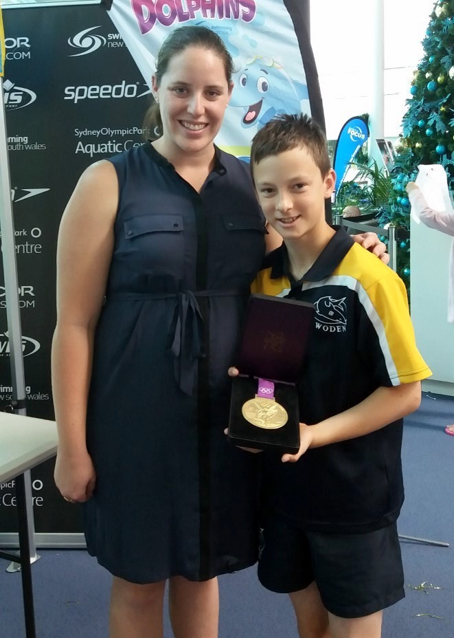 Yaroslav with Alicia Coutts