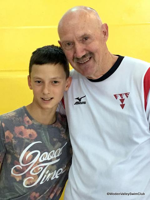 Yaroslav and Coach Steve