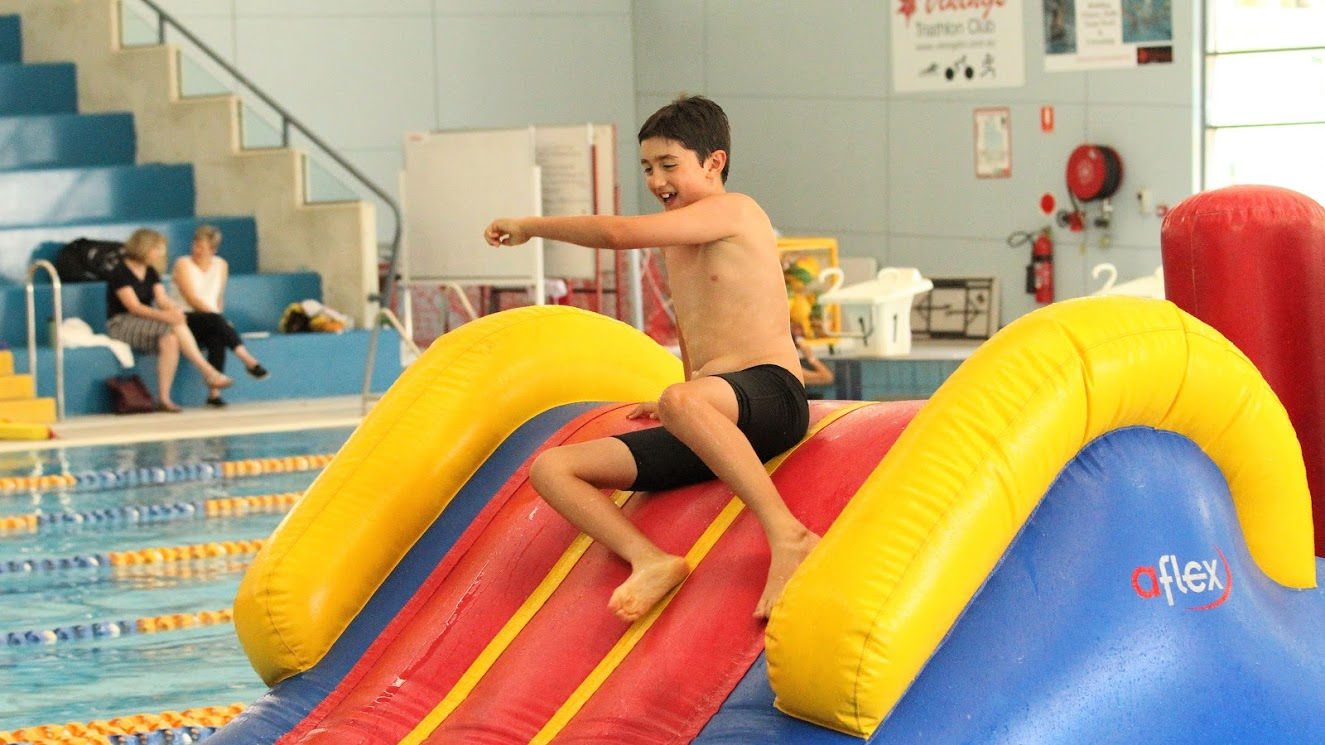 BBQ - Inflatable Obstacle Course