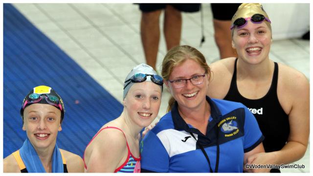 Coach Maddie with Jessica, Kiara & Jasmine